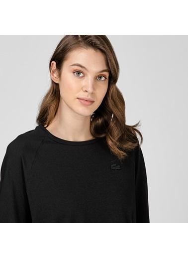 Lacoste Kadın Loose Fit Tişört TF0125.25S Siyah